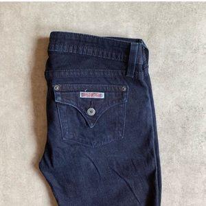 Hudson Jeans Jeans - Hudson Dark Wash Skinny Jeans Short Inseam
